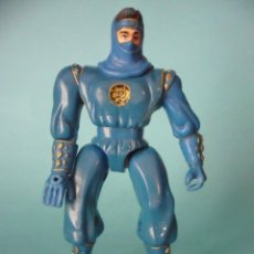 Figuras y Muñecos Power Rangers: MIGHTY MORPHIN POWER RANGERS BLUE NINJA FIGURA DE 14 CM BANDAI 1995. Lote 189717477