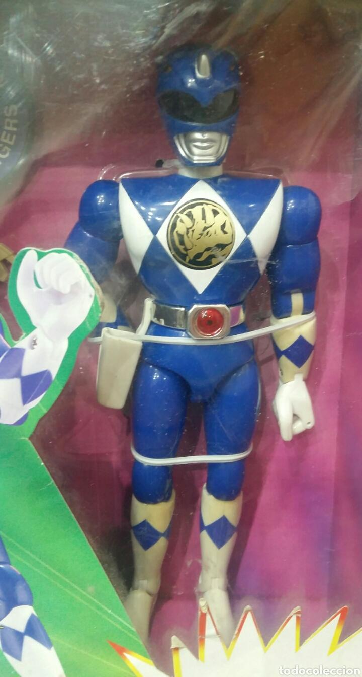 Figuras y Muñecos Power Rangers: POWER RANGERS KARATE BILLY. INCLUYE INSIGNIA Y PISTOLA. BANDAI. MIGHTY MORPHIN. SABAN.REF 2203.1993. - Foto 2 - 192059680
