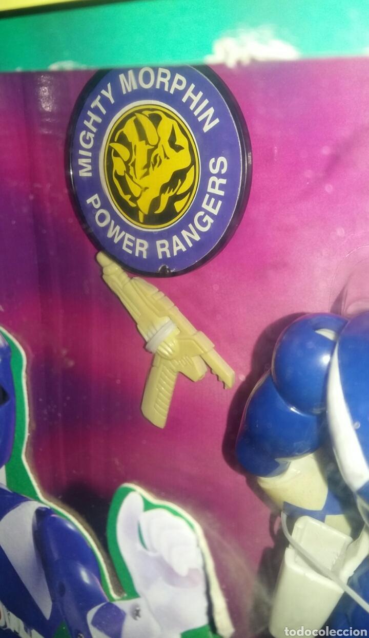 Figuras y Muñecos Power Rangers: POWER RANGERS KARATE BILLY. INCLUYE INSIGNIA Y PISTOLA. BANDAI. MIGHTY MORPHIN. SABAN.REF 2203.1993. - Foto 3 - 192059680