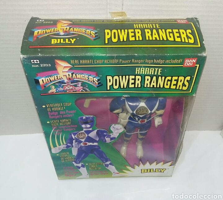 Figuras y Muñecos Power Rangers: POWER RANGERS KARATE BILLY. INCLUYE INSIGNIA Y PISTOLA. BANDAI. MIGHTY MORPHIN. SABAN.REF 2203.1993. - Foto 4 - 192059680