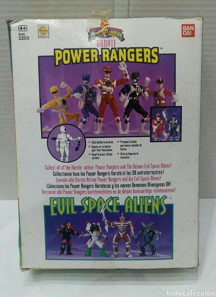 Figuras y Muñecos Power Rangers: POWER RANGERS KARATE BILLY. INCLUYE INSIGNIA Y PISTOLA. BANDAI. MIGHTY MORPHIN. SABAN.REF 2203.1993. - Foto 5 - 192059680