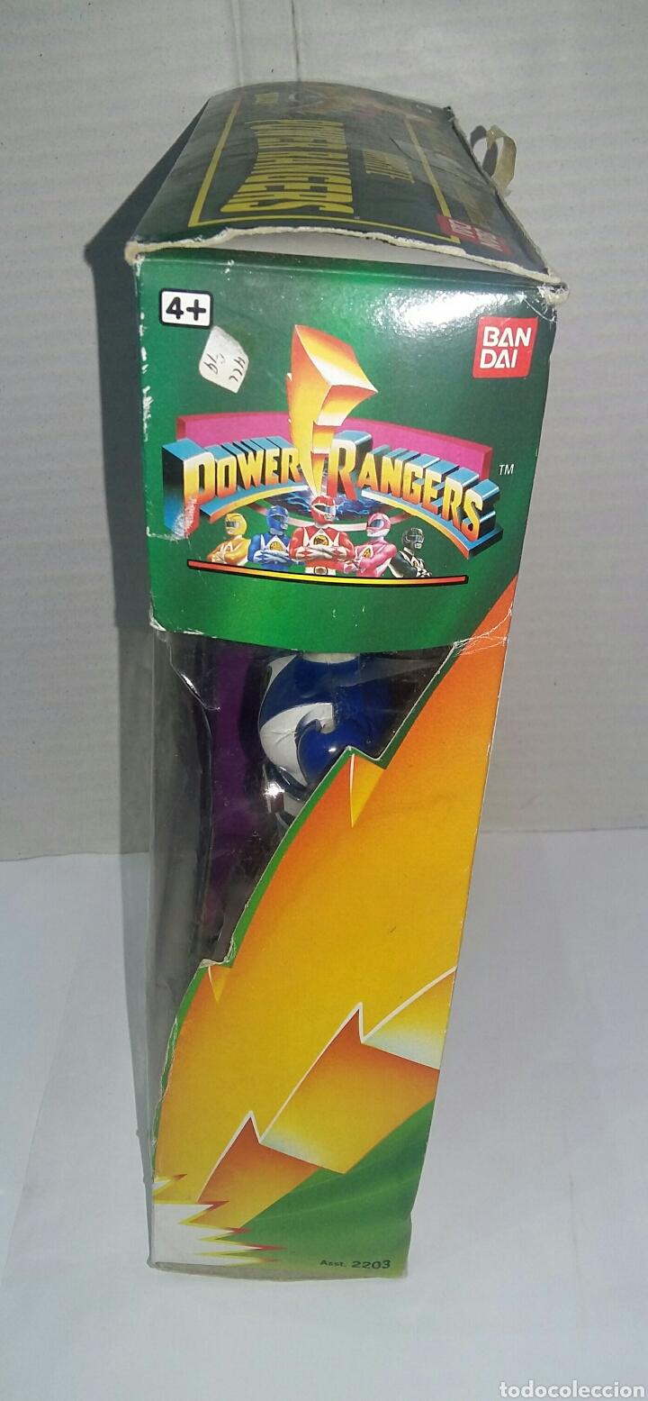 Figuras y Muñecos Power Rangers: POWER RANGERS KARATE BILLY. INCLUYE INSIGNIA Y PISTOLA. BANDAI. MIGHTY MORPHIN. SABAN.REF 2203.1993. - Foto 6 - 192059680