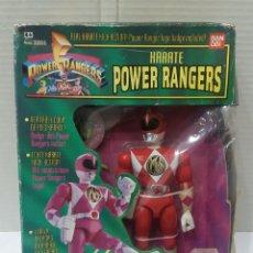Figuras y Muñecos Power Rangers: POWER RANGERS KARATE KIMBERLY. EN CAJA. INCLUYE INSIGNIA Y PISTOLA.BANDAI.MIGHTY MORPHIN.SABAN.1993.. Lote 192060078