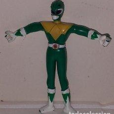 Figurines et Jouets Power Rangers: FIGURA ALAMBRE FLEXI FLEXIBLE POWER RANGER VERDE SABAN GOROY TOY 1994 DE GOMA. Lote 192705710