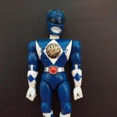 Figuras y Muñecos Power Rangers: ANTIGUO MUÑECO FIGURA DE POWER RANGERS AZUL DE BANDAI AÑOS 90. Lote 193703316