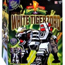 Figure e Bambolotti Power Rangers: WHITE TIGERZORD LEGACY POWER RANGERS MIGHTY MORPHIN DE BANDAI SIN USO CON CAJA. Lote 193639622