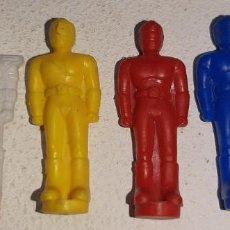 Figuras y Muñecos Power Rangers: POWER RANGERS : LOTE DE 4 FIGURITAS THUNDER MEGAZORD DELUXE BANDAI AÑOS 90 MIGHTY MORPHIN 1993. Lote 193793761