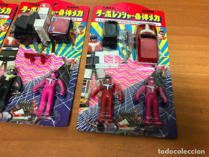 Figuras y Muñecos Power Rangers: 3 blister Power rangers , con los 3 se monta el robot grande - Foto 3 - 193808667