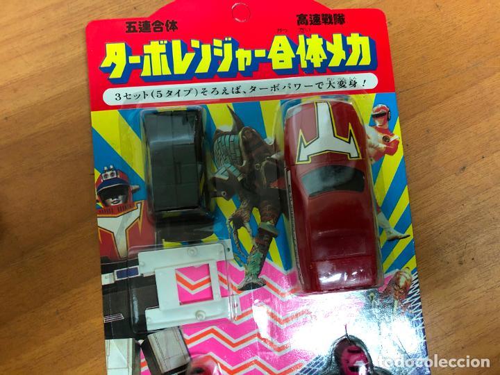 Figuras y Muñecos Power Rangers: 3 blister Power rangers , con los 3 se monta el robot grande - Foto 9 - 193808667