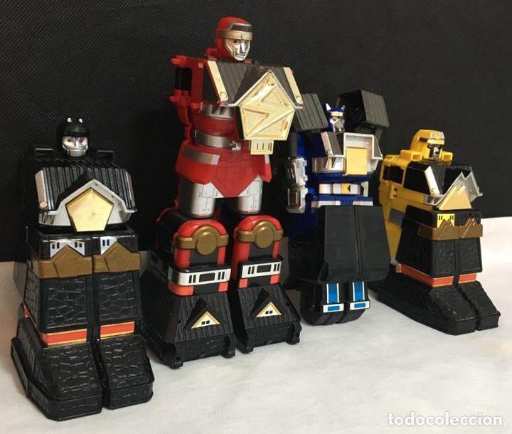 Figuras y Muñecos Power Rangers: Lote Power Rangers Megazords antiguos - Foto 8 - 194156160