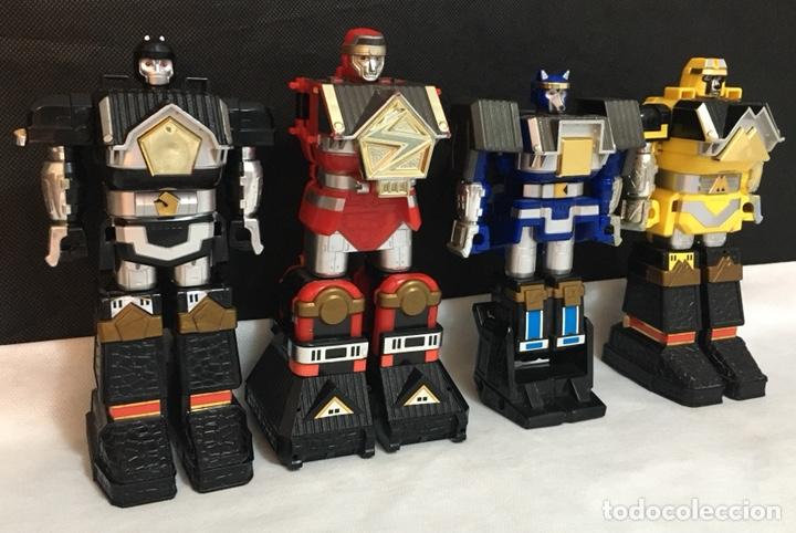 Figuras y Muñecos Power Rangers: Lote Power Rangers Megazords antiguos - Foto 11 - 194156160