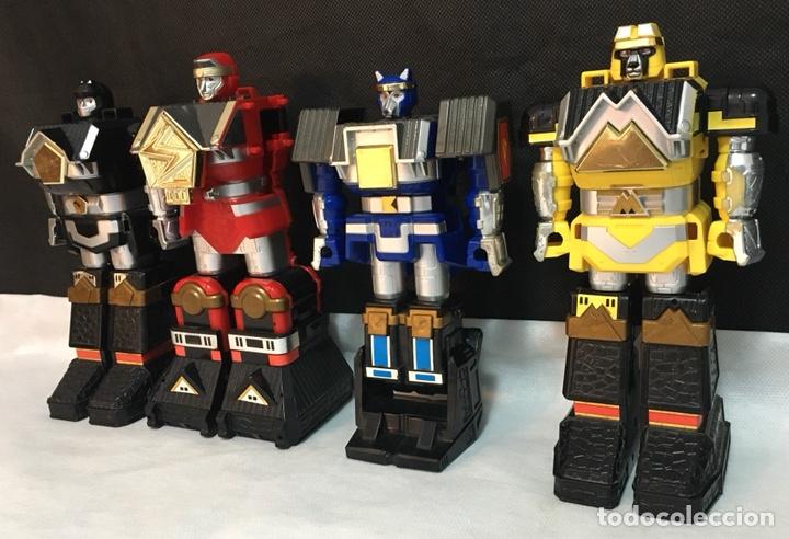 Figuras y Muñecos Power Rangers: Lote Power Rangers Megazords antiguos - Foto 12 - 194156160