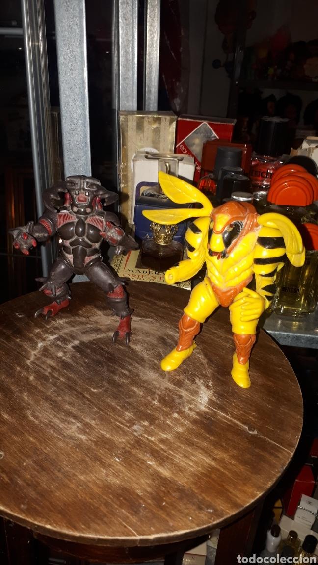 LOTE 2 FIGURAS POWER RANGERS BANDAI 1994 LEER DESCRIPCIÓN (Juguetes - Figuras de Acción - Power Rangers)