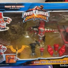 Figuras y Muñecos Power Rangers: DINO ZORD CONTROLLER AND FOSIL FINDER. Lote 194276748
