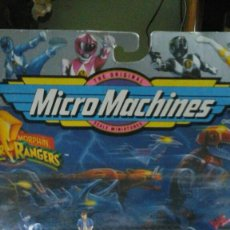 Figuras y Muñecos Power Rangers: MICROMACHINES BLUE RANGER. Lote 194495323