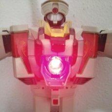Figuras y Muñecos Power Rangers: ROBOT POWER RANGERS TIGRE BLANCO MEGAZORD TIGREZORD CON DOS ESPADAS . Lote 194496180