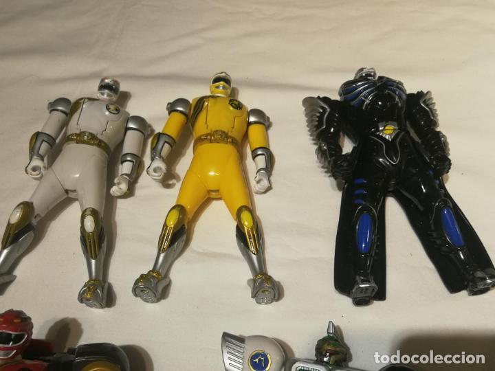 Figuras y Muñecos Power Rangers: lote de Figuras Power Rangers - Foto 2 - 194646126