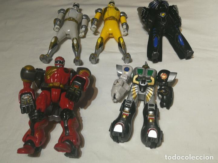 Figuras y Muñecos Power Rangers: lote de Figuras Power Rangers - Foto 3 - 194646126
