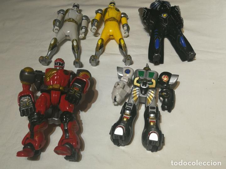 LOTE DE FIGURAS POWER RANGERS (Juguetes - Figuras de Acción - Power Rangers)