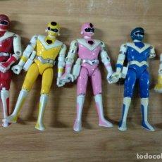Figuras y Muñecos Power Rangers: LOTE 5 BIOMAN - POWER RANGERS - METAL - BIOMAN 2 - TOEI . Lote 194675601