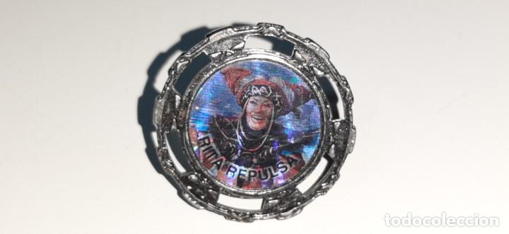 POWER RANGERS MIGHTY MORPHIN - SPIN FIGHTERS Nº 35 - RITA REPULSA DE BANDAI AÑOS 90 (Juguetes - Figuras de Acción - Power Rangers)