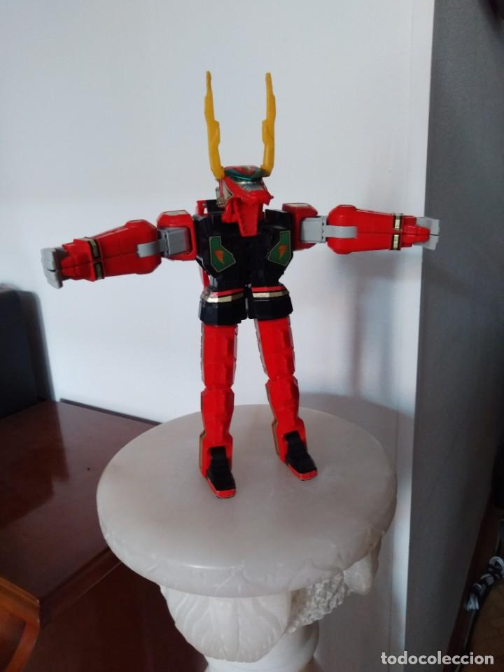 Figuras y Muñecos Power Rangers: Power Rangers Thunderzord. Figura Red Dragon. - Foto 5 - 195100172