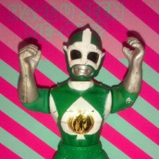 Figuras y Muñecos Power Rangers: RARA FIGURA POWER FIGHTERS VERDE - POWER RANGERS BOOTLEG, AÑOS 90. Lote 195295573