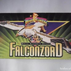 Figuras y Muñecos Power Rangers: POWER RANGERS WHITE RANGER´S DELUXE FALCONZORD BANDAI 1995. Lote 195977358
