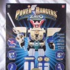 Figuras y Muñecos Power Rangers: POWER RANGERS ZEO DELUXE ZEO MEGAZORD BANDAI 1996. Lote 195978482