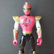 Figuras y Muñecos Power Rangers: FIGURA POWER RANGER ROJO-14CM APROX.-BANDAI-2002-VER FOTOS-B2-V1. Lote 196357636