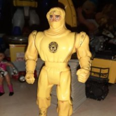 Figuras y Muñecos Power Rangers: NINJA AMARILLO.POWER RANGERS 1995 BANDAI.MOVIMIENTO PATADA.. Lote 196663151