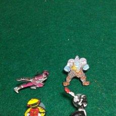 Figuras y Muñecos Power Rangers: POWER RANGERS PINS PERSONAJES DE LA SERIE. Lote 197524971