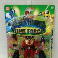 Figure e Bambolotti Power Rangers: POWER RANGERS TIME FORCE. NUEVO EN BLISTER.DELUXE MEGA BATTLE QUANTUM RANGER.ARMADO.BANDAI.REF 10094. Lote 197583012