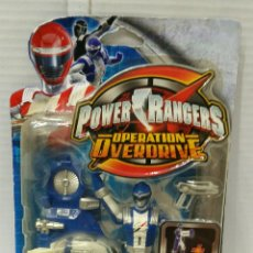 Figuras y Muñecos Power Rangers: POWER RANGERS OPERATION OVERDRIVE. AZUL. NUEVO EN BLISTER. DRIVE ARMURE. FIGURA DE BATALLA. BANDAI.. Lote 197584347