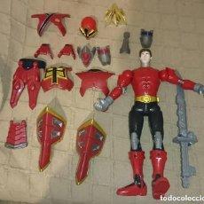 Figuras y Muñecos Power Rangers: OCASION COLECCIONISTAS ANTIGUA FIGURA DE ACCION MUÑECO BANDAI 2011 POWER RANGERS CON MUCHAS PIEZAS. Lote 212690511