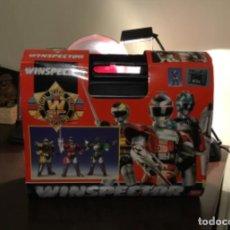 Figuras y Muñecos Power Rangers: WINSPECTOR DE BANDAI FIRE TECTOR BIHLE TECTOR WALTER TECTOR. Lote 202777060