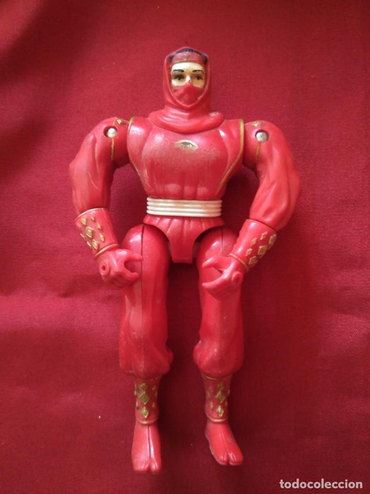 MIGHTY MORPHIN - NINJA ROJO - POWER RANGERS - BANDAI 1995 - FIGHTER EDICION ARTICULADO (Juguetes - Figuras de Acción - Power Rangers)