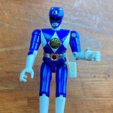 Figuras y Muñecos Power Rangers: FIGURA ACCION BANDAI POWER RANGER AZUL. Lote 204327003