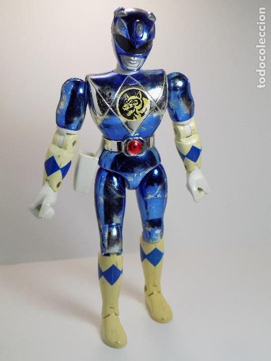 POWER RANGER AZUL BANDAI 1993 21 CTMS (Juguetes - Figuras de Acción - Power Rangers)