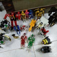 Figuras y Muñecos Power Rangers: LOTE POWER RANGERS. Lote 206138206