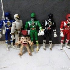 Figuras y Muñecos Power Rangers: LOTE POWER RANGERS. Lote 206408367