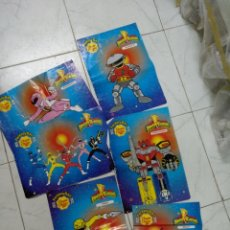 Figuras y Muñecos Power Rangers: POWER RANGERS CHUPA CHUPS. Lote 206467265