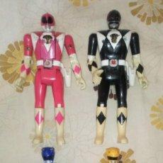 Figuras y Muñecos Power Rangers: LOTE Nº2 DE 4 FIGURAS POWER RANGERS CON DEFECTOS, PARA PIEZAS O REPARAR. Lote 206586767