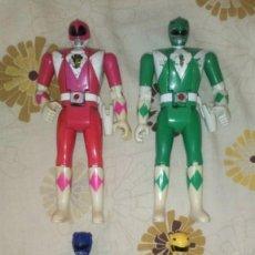 Figuras y Muñecos Power Rangers: LOTE Nº1 DE 4 FIGURAS POWER RANGERS CON DEFECTOS, PARA PIEZAS O REPARAR. Lote 206587225