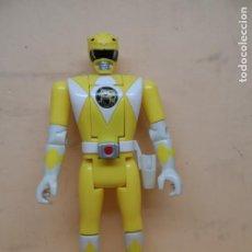 Figuras y Muñecos Power Rangers: FIGURA POWER RANGERS POWER RANGER AMARILLO 1993 BANDAI. Lote 206853040