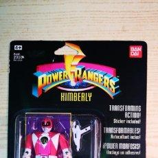 Figuras y Muñecos Power Rangers: BANDAI POWER RANGERS BLISTER KIMBERLY A ESTRENAR. Lote 206936746