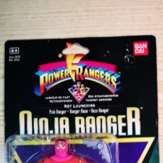Figuras y Muñecos Power Rangers: POWER RANGERS BLISTER NINJA ROSA A ESTRENAR. Lote 207021606