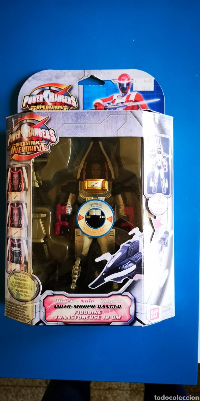 POWER RANGERS MOTO MORPH RANGER OPERATION OVERDRIVE (Juguetes - Figuras de Acción - Power Rangers)