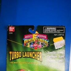 Figuras y Muñecos Power Rangers: POWER RANGERS TURBO LAUNCHER BLISTER A ESTRENAR. Lote 207669645