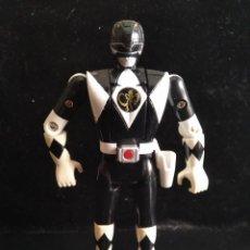 Figure e Bambolotti Power Rangers: RANGER NEGRO METAMORFOSEADOR - POWER RANGERS 1º SERIE 1993 MIGHTY MORPHIN - CAMBIA CARAS. Lote 208022677